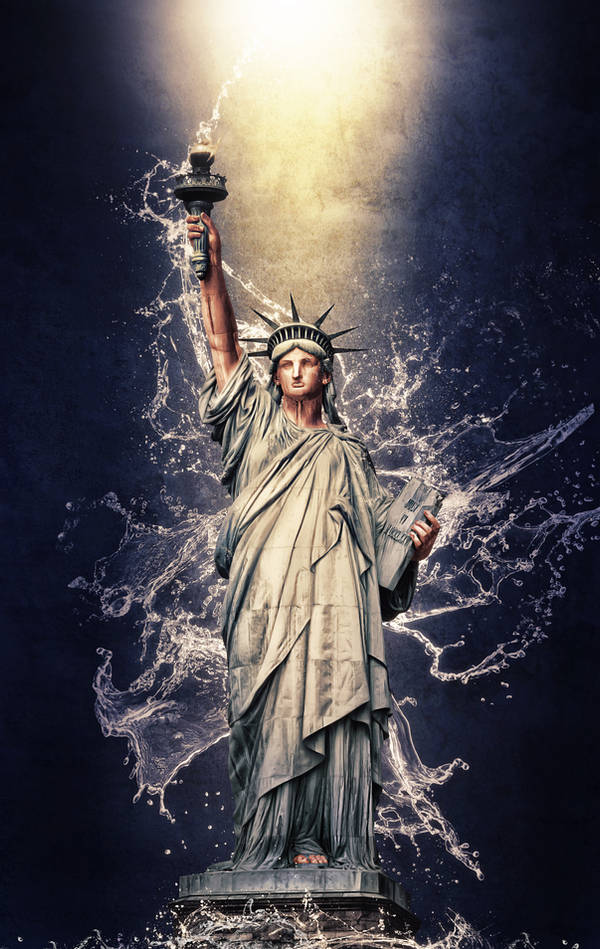 Statue of Liberty by G-10gian82