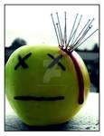 The dead apple.