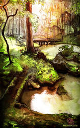A swamp ? Mmmm...