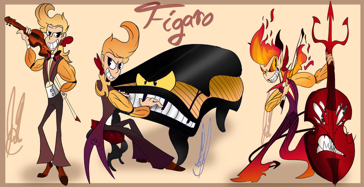 Viola and Figaro- Figaro Phases by ivy6323