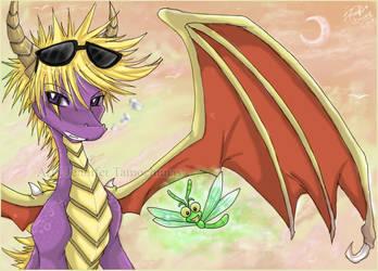 . Spyro . by Nahamut
