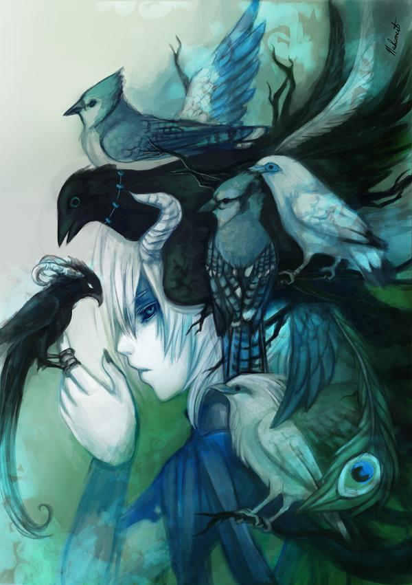 . Birds . by Nahamut