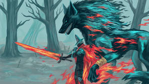. Abyss Watcher and Old Wolf of Farron .