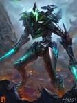 The alien Warrior