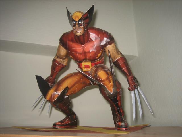 Wolverine papercraft 2 by safaksimsek