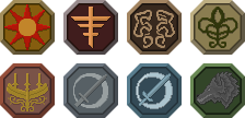 Dark Souls III Covenant Icons by HuntersAndPrey