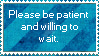 Patient stamp. by Ashuriproductions