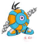 Waddle bot by Rhaytronik