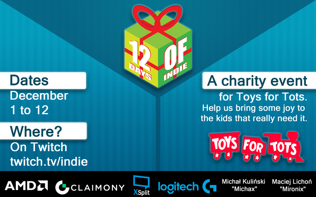 Toys For Tots Promotional Posters : Days of indie promo poster by rhay robotnik on deviantart