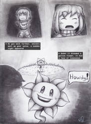 Undertale: A story written by the reader - Ch1-P4