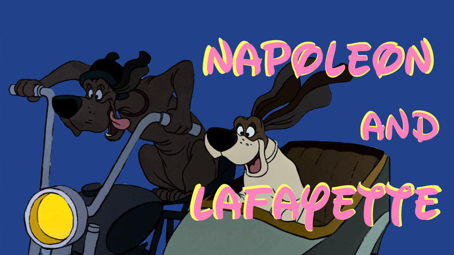 Napoleon and Lafeyette by JeffreyKitsch