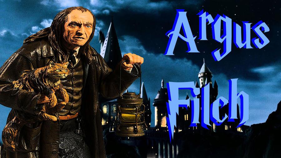 Argus Filch by JeffreyKitsch