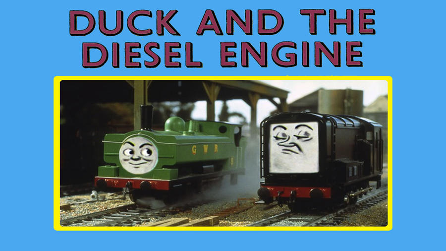Duck and the Diesel Engine by JeffreyKitsch