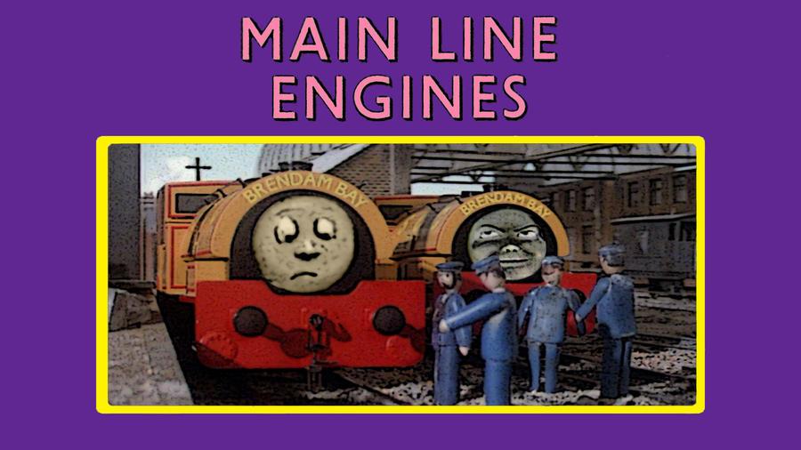 Main Line Engines by JeffreyKitsch