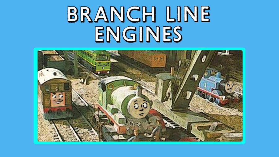 Branch Line Engines by JeffreyKitsch