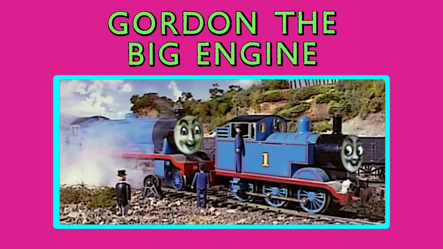 Gordon the Big Engine by JeffreyKitsch