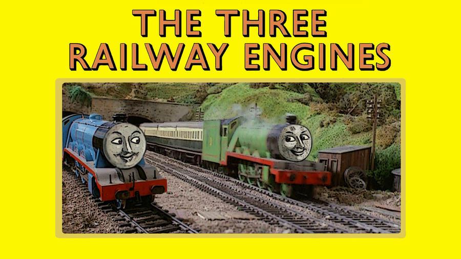The Three Railway Engines by JeffreyKitsch