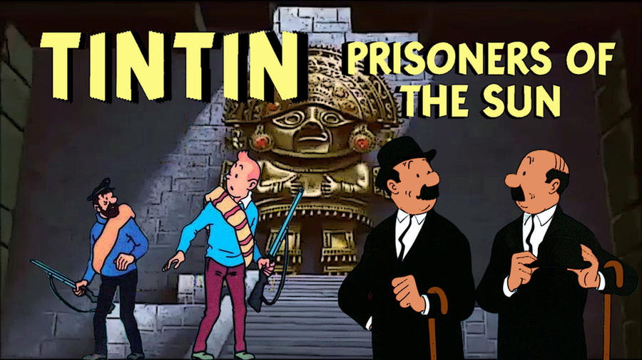 TINTIN and the Temple of the Sun by JeffreyKitsch