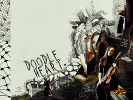 doodle heart by RavenOrlov