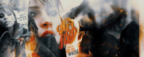 girl on fire by RavenOrlov
