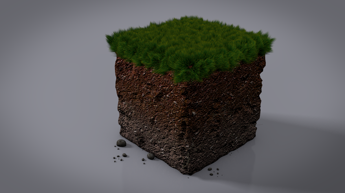 how to turn dirt into grass minecraft