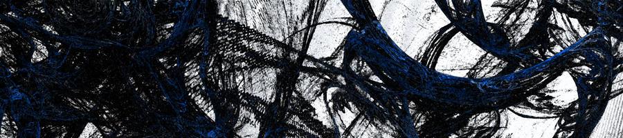 Blue. Black. White. by xadacka