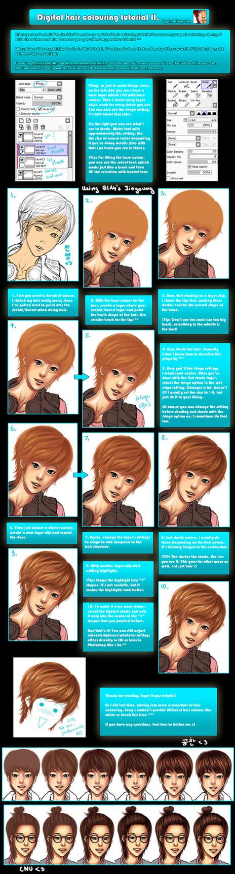 New Hair Colouring Tutorial by IrethSingollo