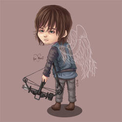 Christmas Requests: Daryl by blingyeol