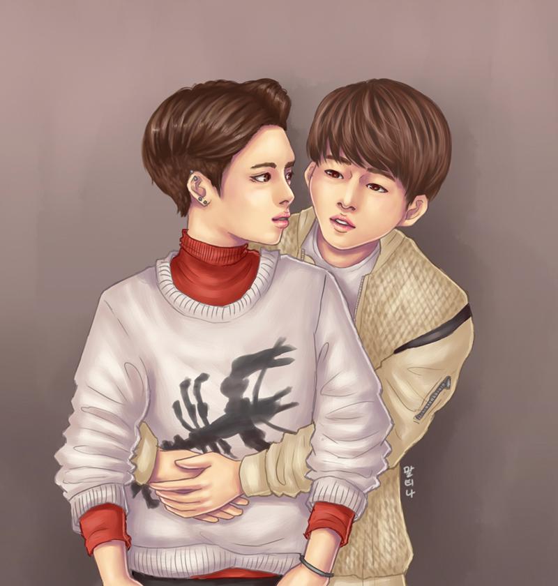[JongYu] Back Hug by blingyeol