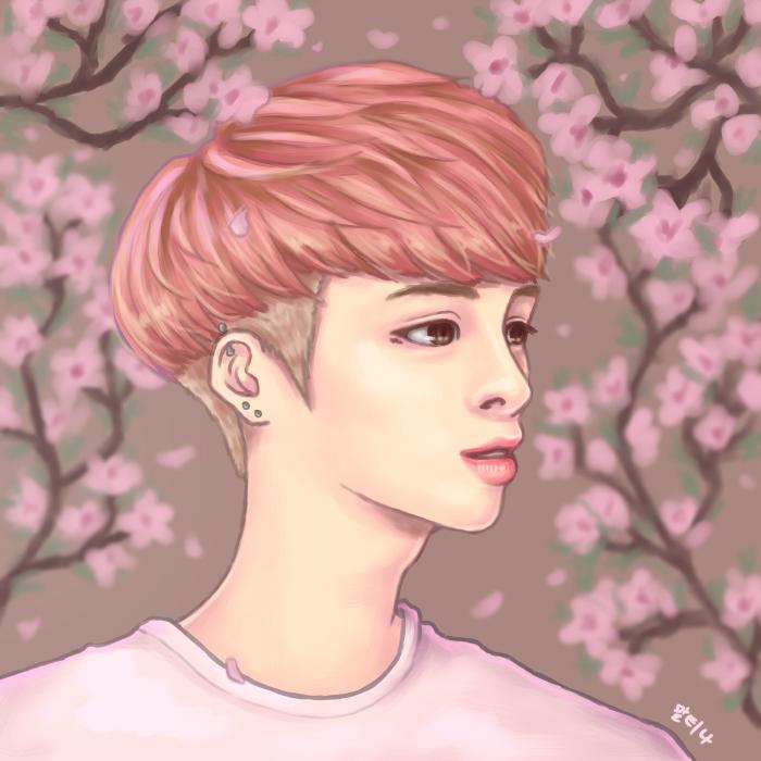 Cherry Jjong by blingyeol