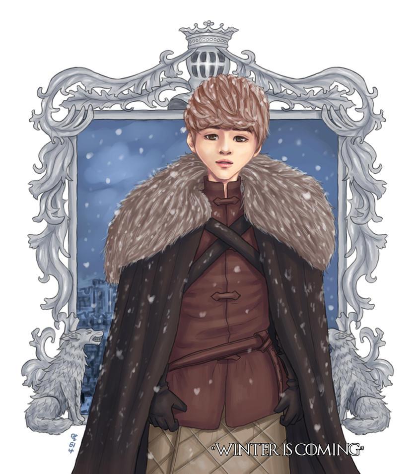 Jonghyun of House Stark [SHINee x GoT] by blingyeol