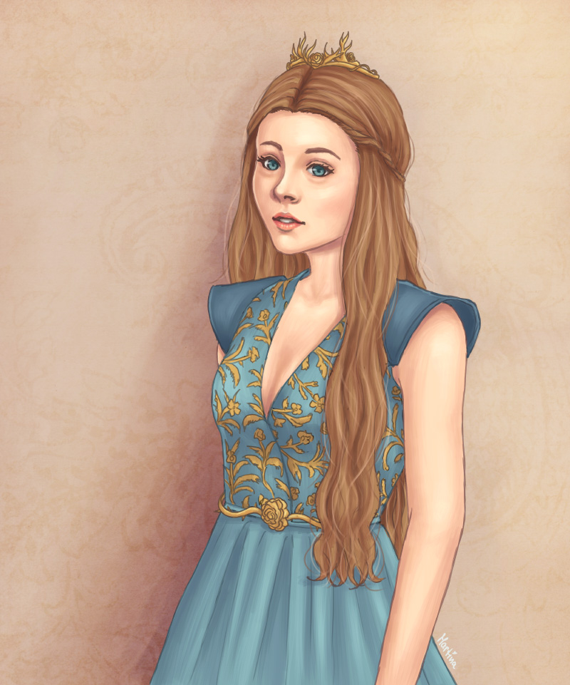 Queen Margaery by blingyeol