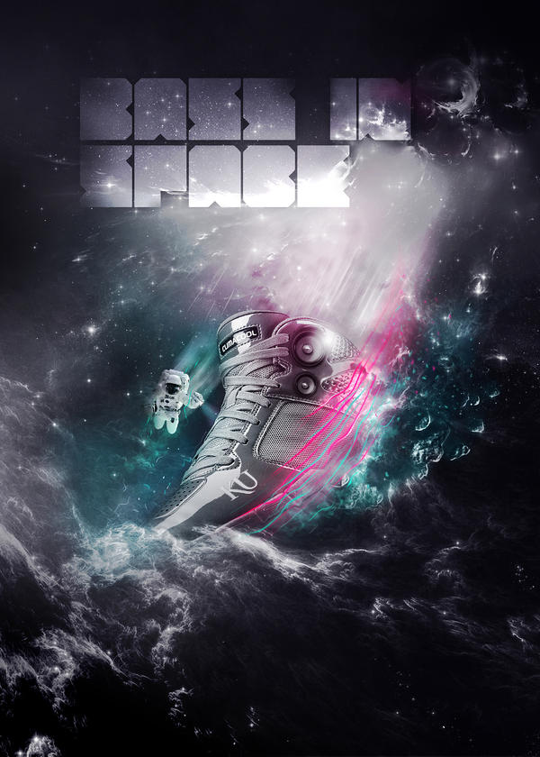 Bass in space by karmagraphics