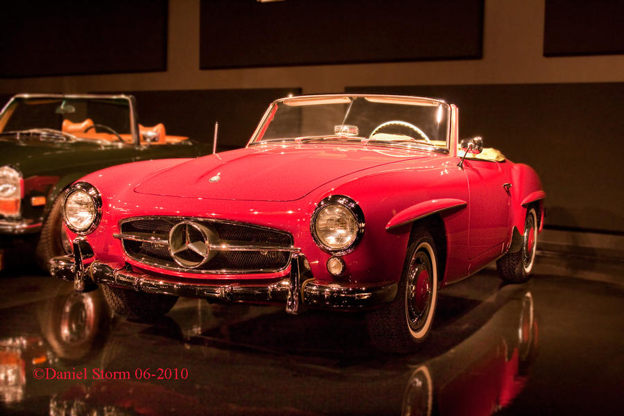 1959 Mercedes 190 SL by StormPix