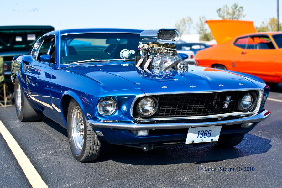 Supercharger Classic Muscle Car