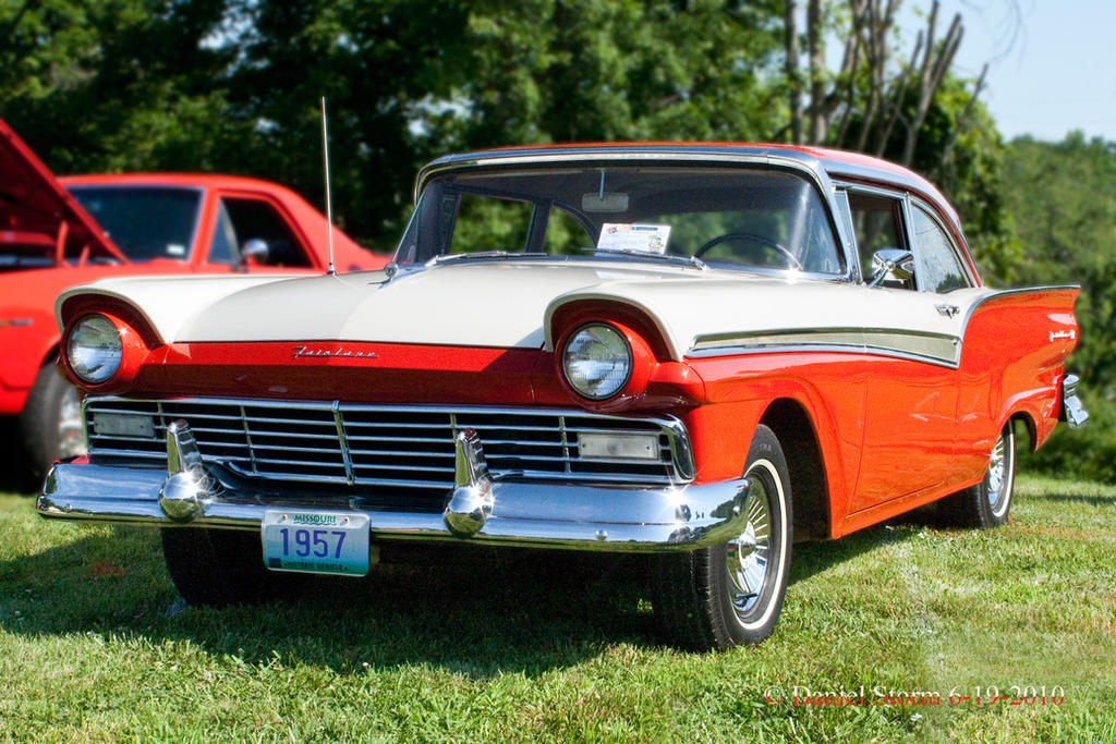 1957 ford fairlane 500 two door sedan by stormpix on for 1957 ford 2 door