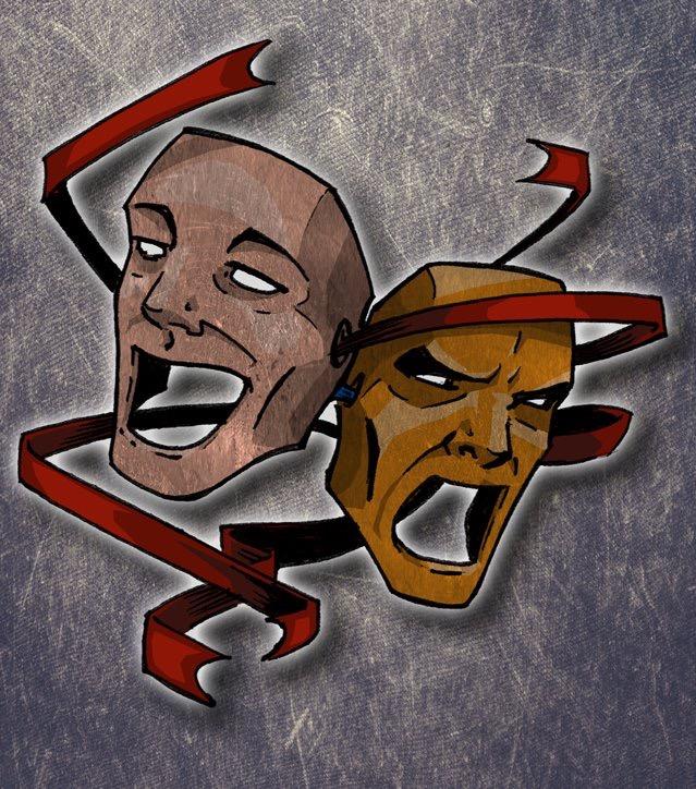 Comedy/Tragedy for fun by Eglflyfree