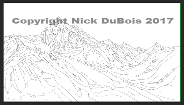 Am Dad Mountains Nick DuBois Copryright 2017 by NDuBdesigns