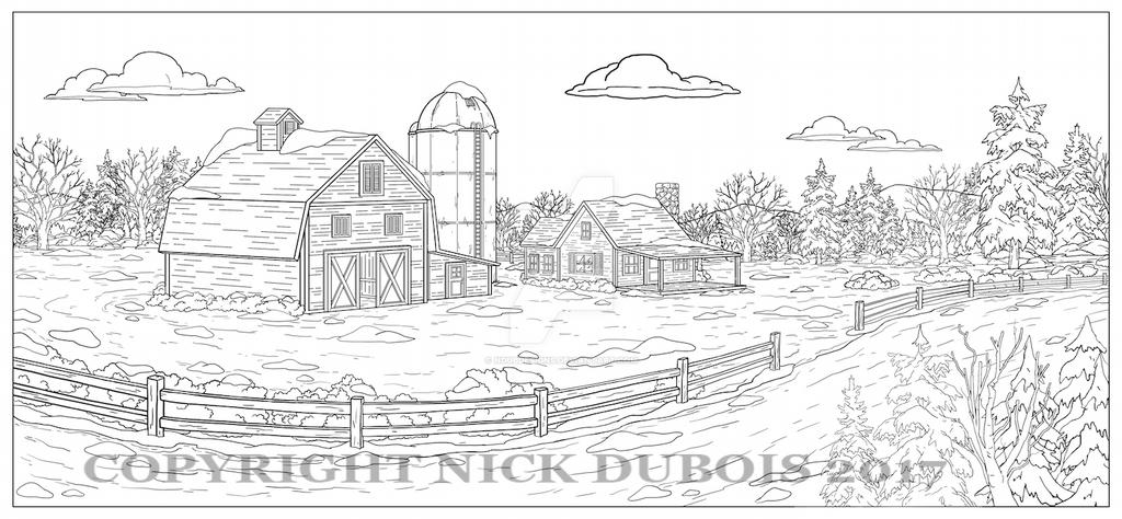 AD Barn Road Copyright Nick DuBois 2017 by NDuBdesigns