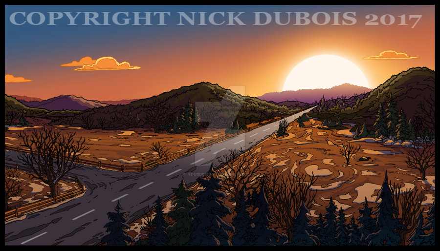 AD Horizon Color Dept copyright Nick DubOis 2017 by NDuBdesigns