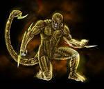 Marvel Scorpion redesign WIP