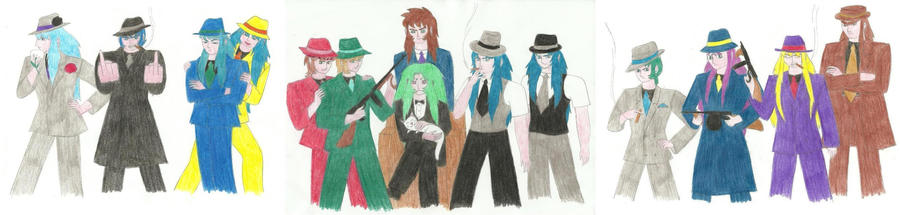 Don Shion and Gangster Saints