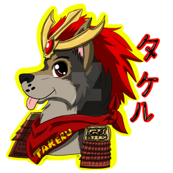 ::G - Takeru Headshot Badge::