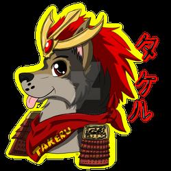 ::G - Takeru Headshot Badge::