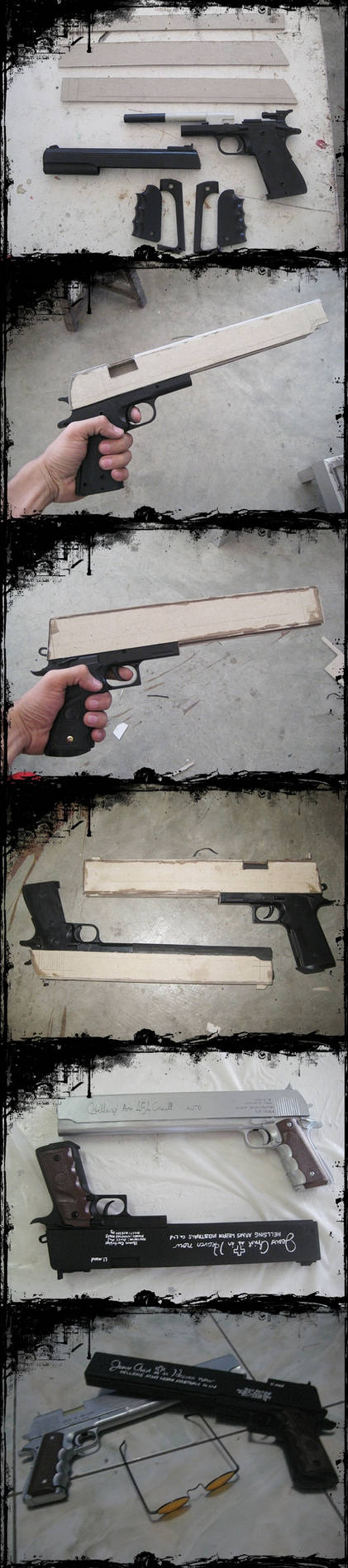 Alucards Pistols Casul and Jackal