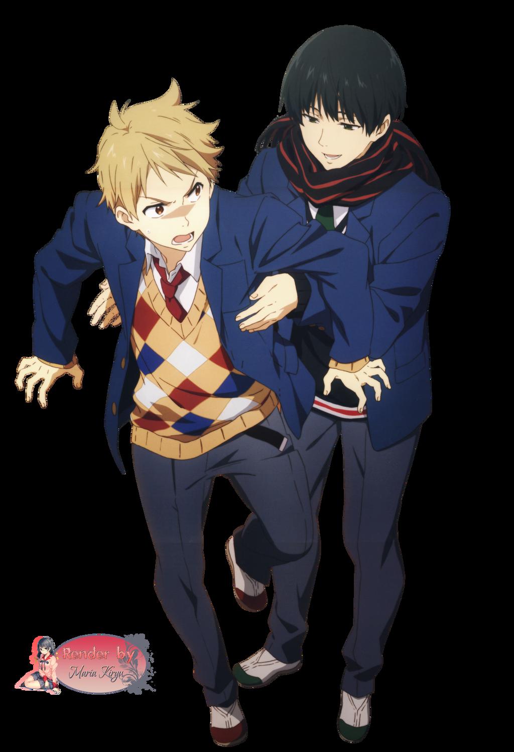 Renders anime Kyoukai_no_kanata_render_by_mariakiryu-d6yrra5