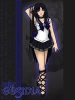 Sailor Obsidia by SarahsPlushNStuff
