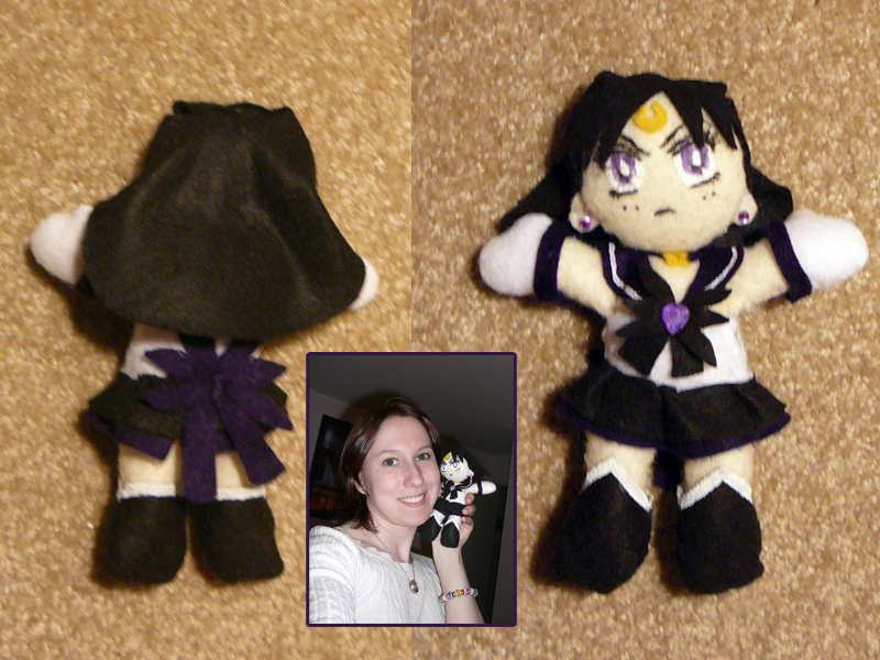 Sailor Astera Plushie by sakkysa