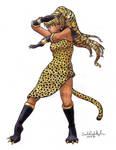 Sailor Golden Cheetah
