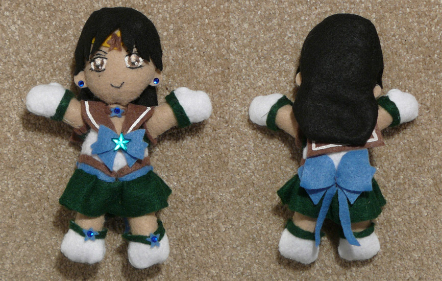 Sailor Earth Plushie by sakkysa